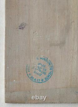 ALEXANDRE BAILLY (1866-1947) Tableau Ancien Paysage CAHORS Pont Valentré #8