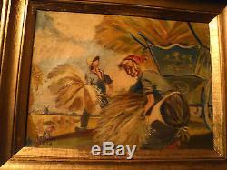 ANCIEN TABLEAU DE RAPHAEL DUBOIS ANNEES 1920 TRES BELLE COTE