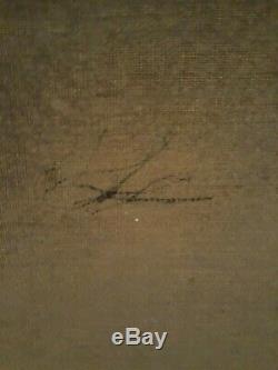 ANCIEN TABLEAU HUILE/TOILE DEBUT XIXéme EMPIRE PORTRAIT DE JEUNE FEMME AU CHALE
