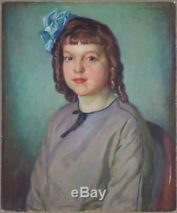 Abel George Warshawsky (Américain, 1883-1962) Ancien Tableau Peinture Huile