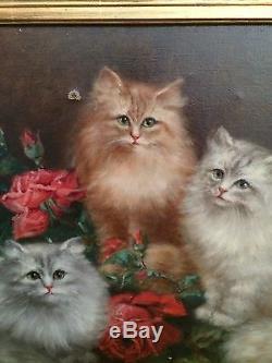 Ancien Tableau 19eme Marguerite Dorbritz