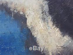 Ancien Tableau Henri Moreau (1869-1943) Peinture Huile Antique Oil Painting