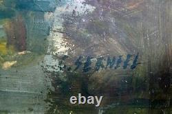 Ancien Tableau / Huile sur panneau, Nature Morte