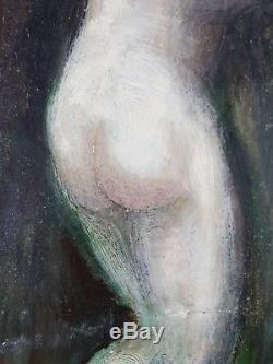 Ancien Tableau Jules-Armand Hanriot (1853-1877) Peinture Huile Toile Painting
