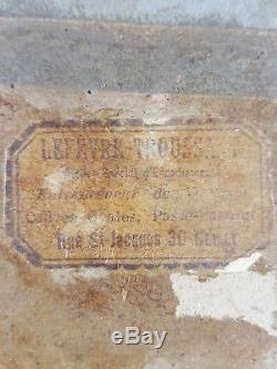 Ancien Tableau La Discussion Peinture Huile Antique Oil Painting