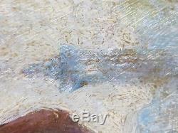 Ancien Tableau Marcel Bloch (1884-) Ancien Tableau Peinture Huile Oil Painting