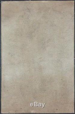 Ancien Tableau Venise Peinture Huile Antique Oil Painting