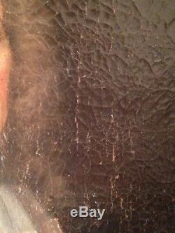 Ancien Tableau XVIIIe Portrait d'un Magistrat en buste Huile sur Toile 18th
