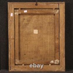 Ancien peinture Sainte Agathe tableau religieux huile toile 17ème siècle 600