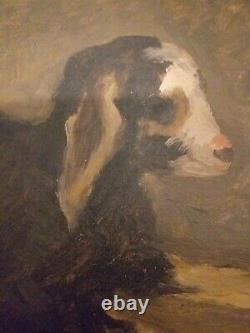 Ancien tableau signé par joseph Frégier peintre genenossien. Marseille