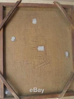 Ecole Française XIXe- Tableau ancien/Huile/toile-Portrait FEMME -oil