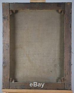 Ecole française du XVIIIè, tableau ancien, HST