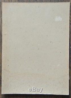 Edmond QUINTON 1892-1969 Tableau ancien Impressioniste Vieille ville LE MANS