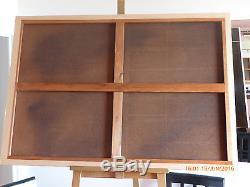 GRAND TABLEAU ANCIEN HST 116 x 81 ECOLE FRANÇAISEJOUEUR DE LUTH