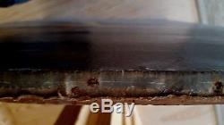 Grand tableau ancien portrait de jeune homme école espagnole Goya