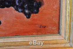 Gustave LINO (1893-1961) NATURE MORTE HUILE TABLEAU ANCIEN ORIENTALISTE MARQUET