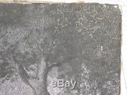 Henri Richevillain Tableau Orientaliste Ancien 33x59 Orientalist French Painting