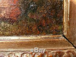 Huile sur toile, Narcisse Virgile DIAZ DE LA PENA(1807-1876). Tableau ancien
