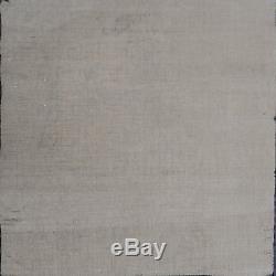 Huile /toile ancienne tableau femme nue allongée