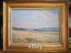 Impressionnisme 1913 Fécamp A. P. LEROUX Rouen Tableau ancien Galerie B. Delarue