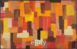 Johannes Itten (Suisse, 1888-1967) Ancien Tableau Peinture Huile Oil Painting