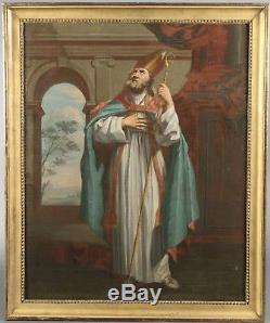 Nicolas Mignard. Huile sur toile XVII siècle. Tableau ancien. Grande qualité