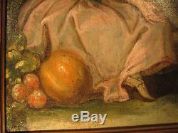 Pastorale XVIIIe Ancienne coll. Ernest MASUREL Tableau Peinture Painting Pittura