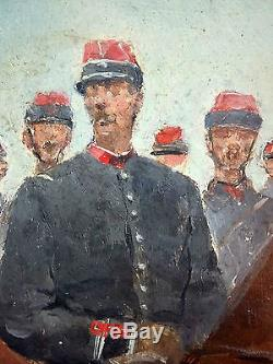 Pierre Petit-Gérard (Français, 1852-1933) Ancien Tableau Peinture Huile Original