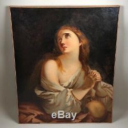 Sainte Marie Madeleine, tableau ancien