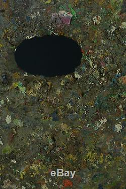 Spectaculaire palette de peintre art nouveau tableau ancien antique painting
