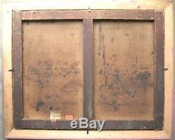 TB Paysage Clovis F. TERRAIRE 1858-1931 Ecole lyonnaise Tableau ancien Barbizon