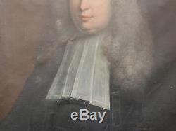 Tableau Ancien Huile Portrait Homme Magistrat Jean-Antoine de Mesmes XVIIe