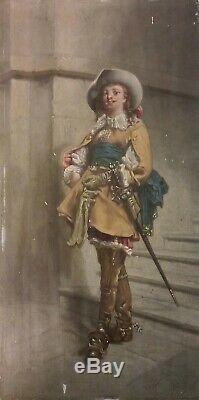 Tableau Ancien Signe Et Date 1891