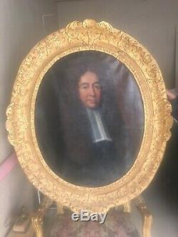 Tableau Ancien XVII / Provenance Château / Dignitaire