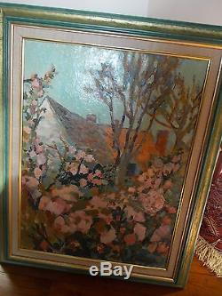 Tableau Ancien peinture Ernest VENTRILLON 1884-1953