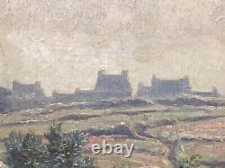 Tableau Peinture Cadre 19è XIXè 20è XXè Paysage Impressionnisme Réalisme Ancien