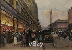 Tableau Peinture Cadre 20è XXè Sita Ecole de Paris Paysage Réalisme Rare ancien