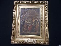 Tableau ancien Ecole Rubens XVII ème Henri IV Roi de France