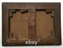 Tableau ancien, Huile sur toile, Scène de Bacchantes, XIXe ou avant