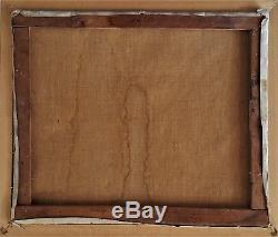 Tableau ancien Paysage Corse de Pierre BACH