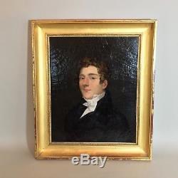 Tableau ancien Portrait d'un jeune homme