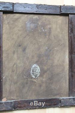 Tableau ancien Portrait de jeune homme 1801 att. À W. B. VAN DER KOOI1768-1836