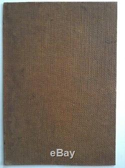 Tableau ancien Proche Joseph Victor COMMUNAL Montagne Croix sommitale Huile