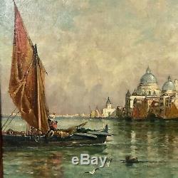 Tableau ancien Venise, tableau de Venise XIXème
