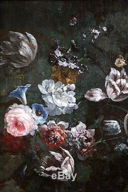 Tableau ancien du 17è-Nicolas Baudesson (1611- 1680)-Atelier
