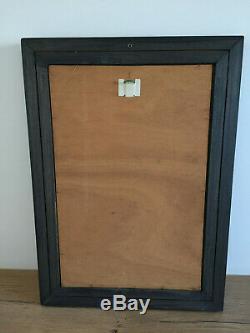 Tableau ancien huile sur panneau INCONNU (XXe-s) nue