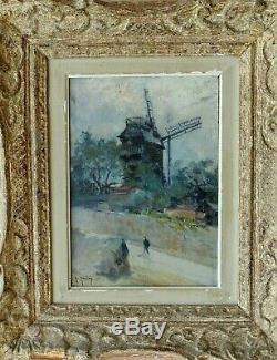 Tableau ancien par Gustave MADELAIN Atiste Peintre (1867-1944) Ecole de Paris