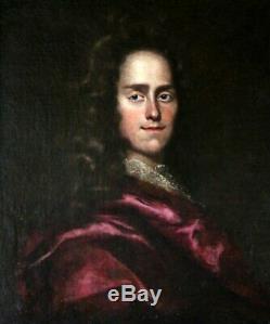 Tableau ancien-portrait du 17è