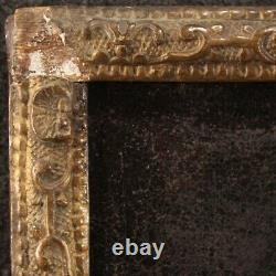 Tableau ancien portrait peinture huile sur toile avec cadre 700 18ème siècle