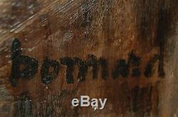 Tableau ancien signé BONNARD nature morte Toile IMPRESSIONNISME